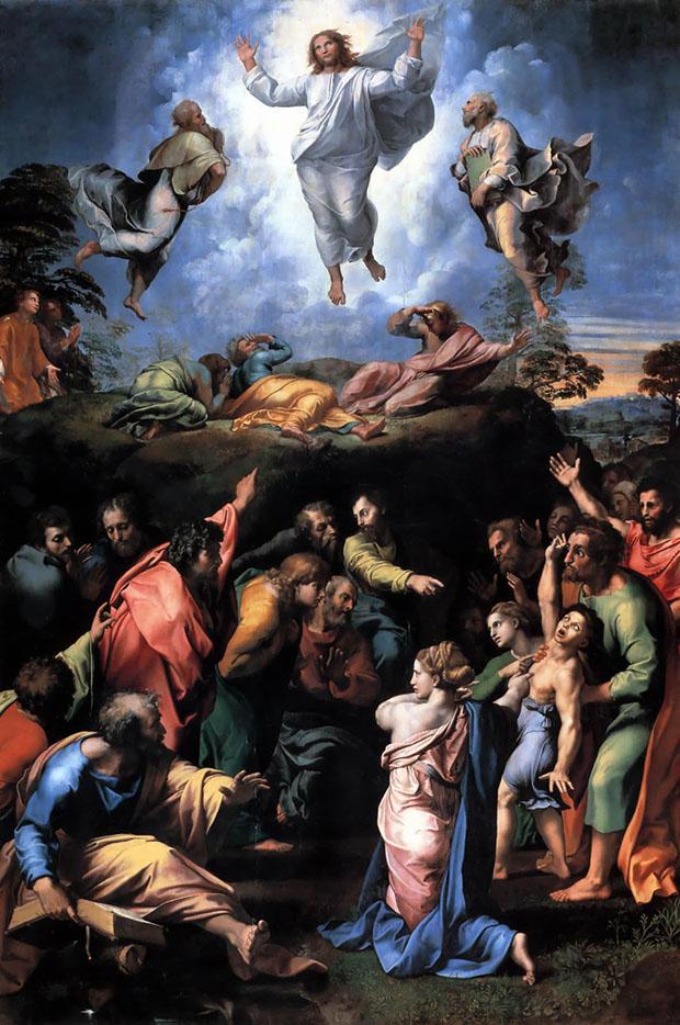 Trasfigurazione di Raffaello, 1518-20, Pinacoteca Vaticana.