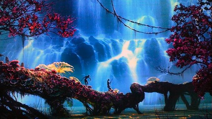 "Una scena di ""Avatar"" di James Cameron"