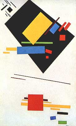 Malevich, Dipinto Suprematista, 1915,  Stedelijk Museum,  Amsterdam.