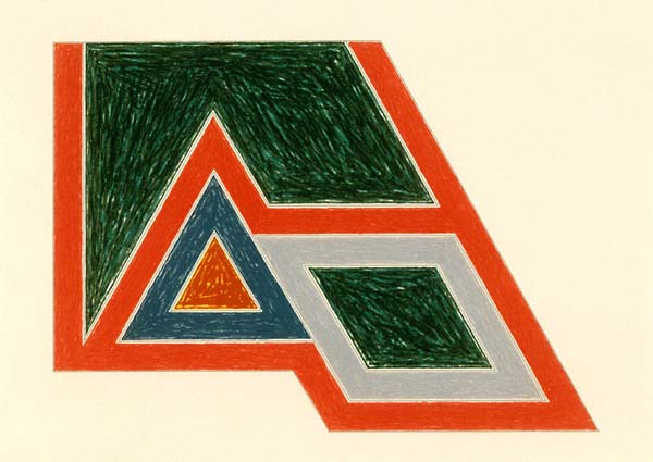 Frank Stella, Sanbornville, 1974.