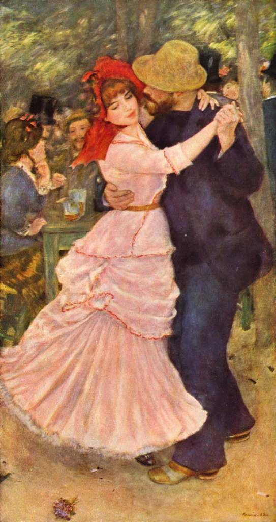 Pierre Auguste Renoir. Bal à Bougival, Museum of fine arts, Boston, 1883.