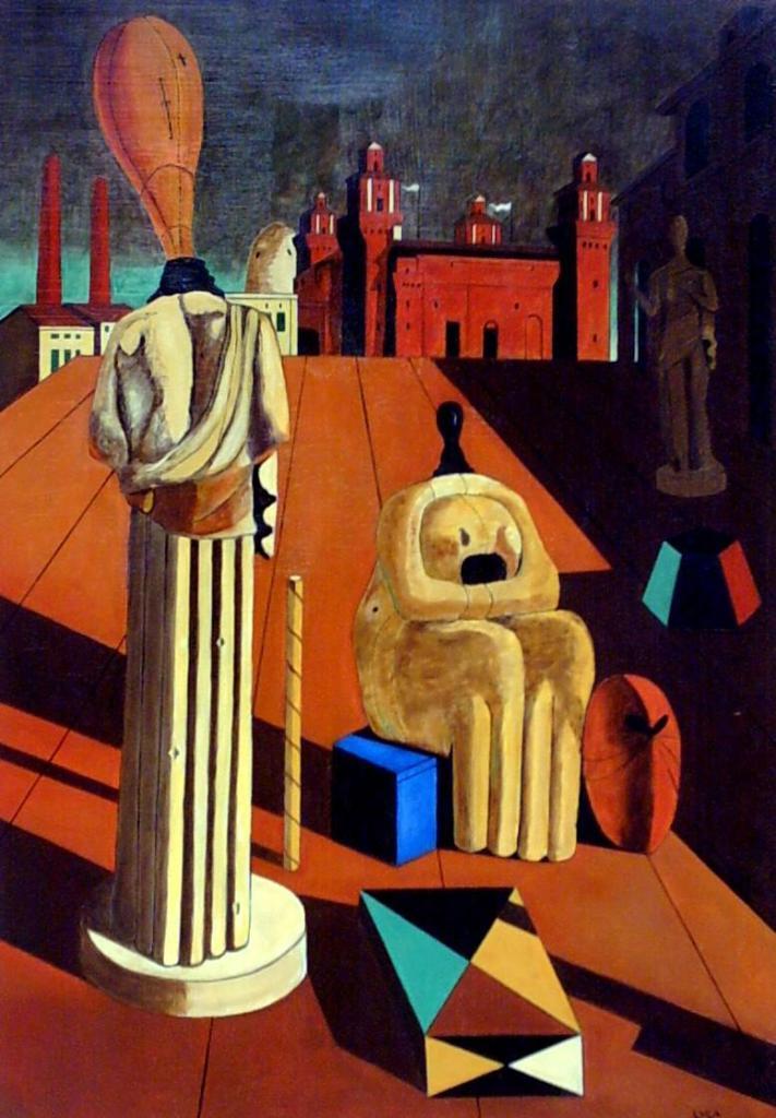 Giorgio De Chirico, Le muse inquietanti, 1917.