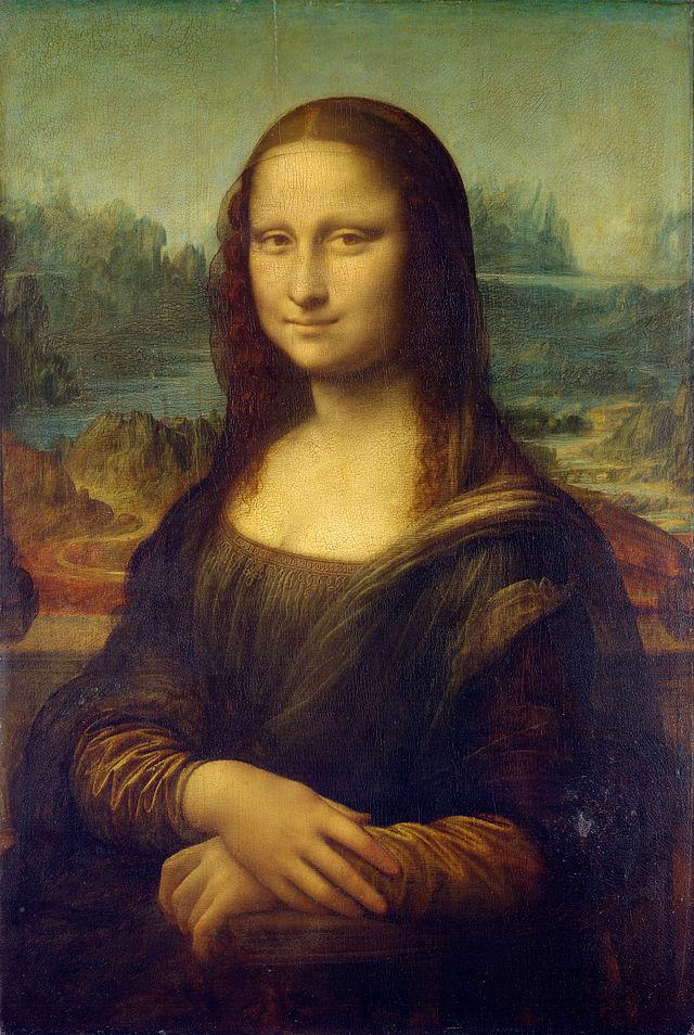 Mona Lisa - Gioconda, Leonardo da Vinci